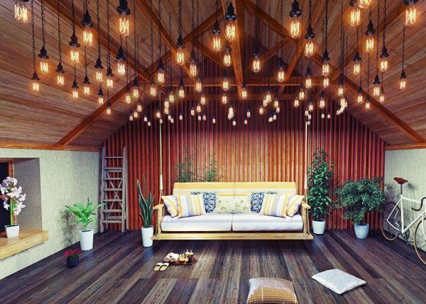 çatı katı aydınlatma